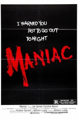 Maniac movie poster (1980) poster MOV_047b5a09
