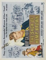 The Saga of Hemp Brown movie poster (1958) picture MOV_f88bf7e5