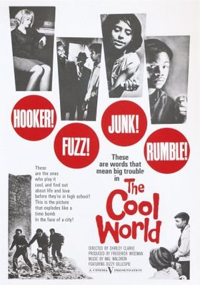 The Cool World movie poster (1964) poster MOV_04aff287