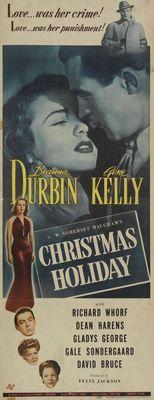 Christmas Holiday movie poster (1944) poster MOV_04b29e68