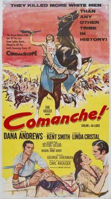 Comanche movie poster (1956) poster MOV_04da646b