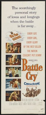 Battle Cry movie poster (1955) poster MOV_04dce467