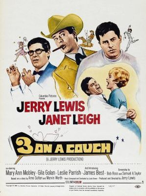Three on a Couch movie poster (1966) poster MOV_04e8c6ad
