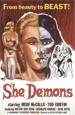 She Demons movie poster (1958) poster MOV_05205517