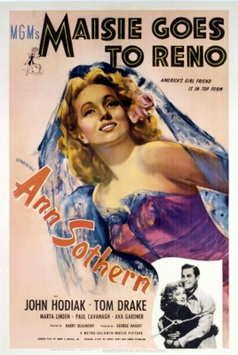Maisie Goes to Reno movie poster (1944) poster MOV_053797bf