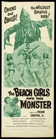 The Beach Girls and the Monster movie poster (1965) picture MOV_053f16a8