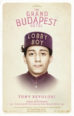 The Grand Budapest Hotel movie poster (2014) poster MOV_0562d3be