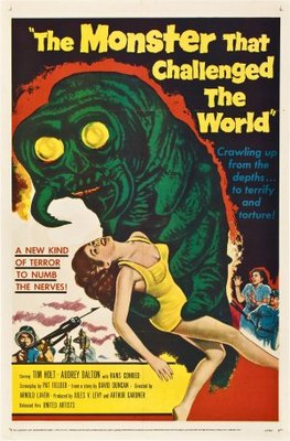 The Monster That Challenged the World movie poster (1957) poster MOV_056ab308