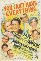 You Can't Have Everything movie poster (1937) picture MOV_05902d48