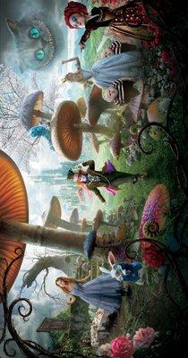 Alice in Wonderland movie poster (2010) poster MOV_0593f5c1