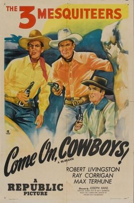 Come On, Cowboys! movie poster (1937) poster MOV_059e48e6