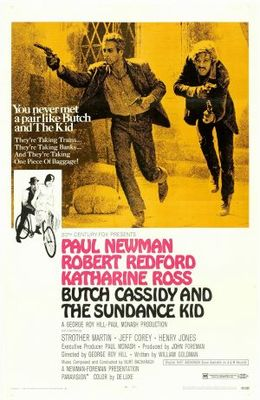 Butch Cassidy and the Sundance Kid movie poster (1969) poster MOV_05a4575f