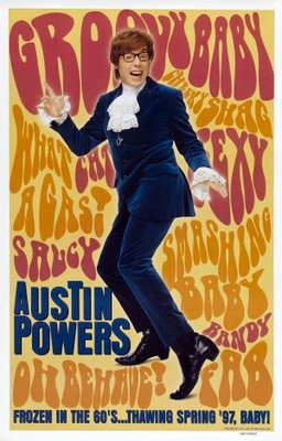 Austin Powers movie poster (1997) poster MOV_05a73b9d