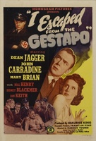 I Escaped from the Gestapo movie poster (1943) picture MOV_05d327a9