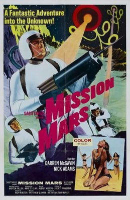 Mission Mars movie poster (1968) poster MOV_05e88b4a