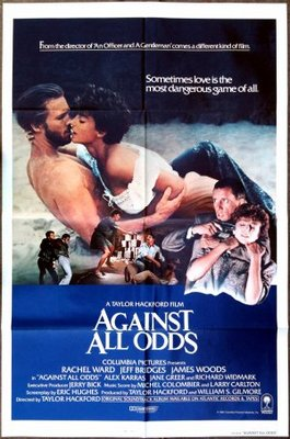 Against All Odds movie poster (1984) poster MOV_0619e3c6