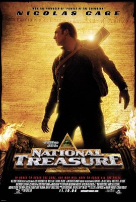 National Treasure movie poster (2004) poster MOV_063127a3