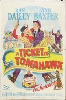 A Ticket to Tomahawk movie poster (1950) picture MOV_064867c9