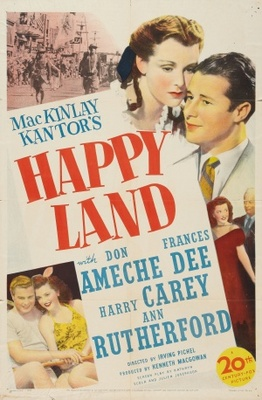 Happy Land movie poster (1943) poster MOV_064ffa27