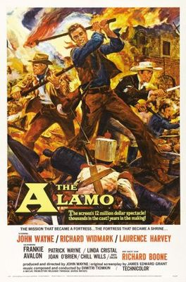 The Alamo movie poster (1960) poster MOV_06522b7a