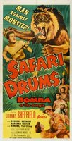 Safari Drums movie poster (1953) picture MOV_0684bc49