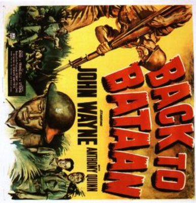 Back to Bataan movie poster (1945) poster MOV_0686eb1a