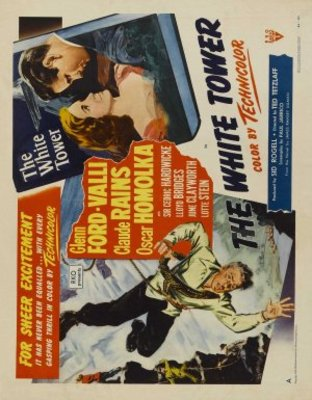 The White Tower movie poster (1950) poster MOV_06a0c911