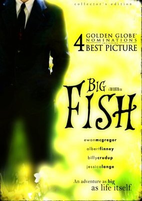 Big Fish movie poster (2003) poster MOV_06a3afd0