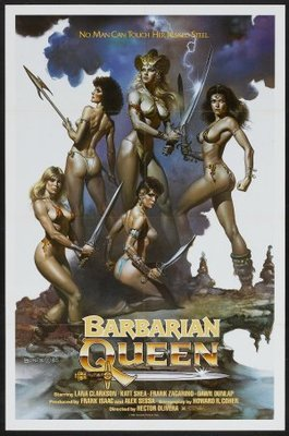 Barbarian Queen movie poster (1985) poster MOV_06ae9def