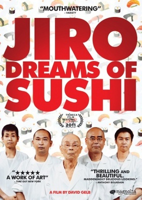 Jiro Dreams of Sushi movie poster (2011) poster MOV_06c1c10a