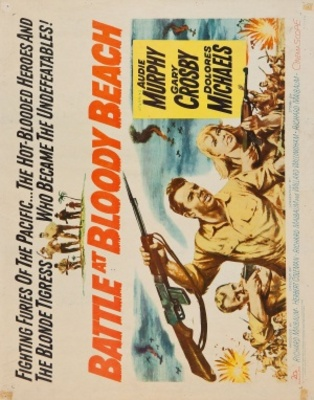 Battle at Bloody Beach movie poster (1961) poster MOV_06daa179