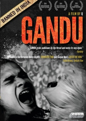 Gandu movie poster (2010) poster MOV_06e6abcf