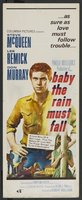 Baby the Rain Must Fall movie poster (1965) picture MOV_06f09866