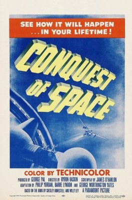 Conquest of Space movie poster (1955) poster MOV_06f5ddcc