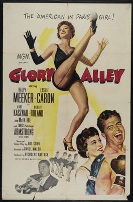 Glory Alley movie poster (1952) poster MOV_070048e0
