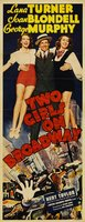 Two Girls on Broadway movie poster (1940) picture MOV_0710481a