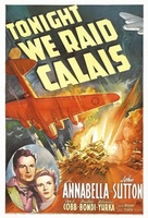Tonight We Raid Calais movie poster (1943) picture MOV_0725894e