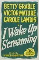 I Wake Up Screaming movie poster (1941) picture MOV_073c56a4