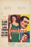 Betrayed movie poster (1954) picture MOV_07429775