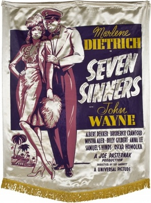 Seven Sinners movie poster (1940) poster MOV_07743a3d