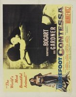 The Barefoot Contessa movie poster (1954) picture MOV_077493ff