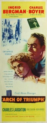 Arch of Triumph movie poster (1948) poster MOV_079de0c0