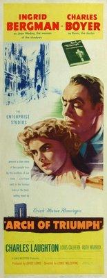 Arch of Triumph movie poster (1948) poster MOV_079de0c0