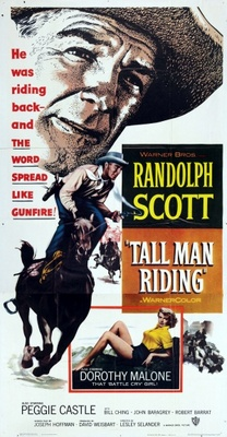 Tall Man Riding movie poster (1955) poster MOV_079e04f0