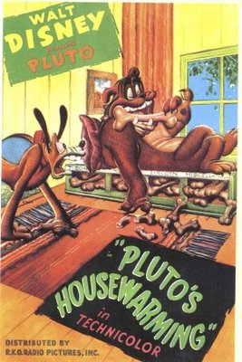 Pluto's Housewarming movie poster (1947) poster MOV_07b1eb58