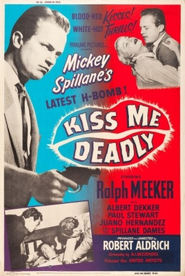 Kiss Me Deadly movie poster (1955) poster MOV_07bd58db