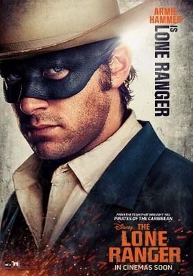 The Lone Ranger movie poster (2013) poster MOV_07c0ad26