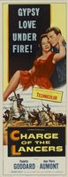 Charge of the Lancers movie poster (1954) picture MOV_07c53eef