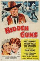 Hidden Guns movie poster (1956) picture MOV_07cd304f