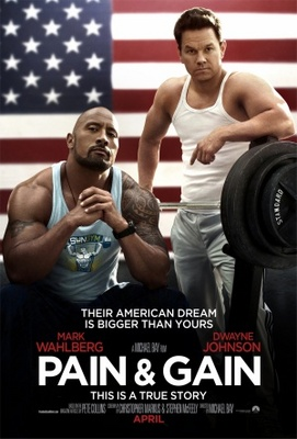Pain and Gain movie poster (2013) poster MOV_07d4e8f7
